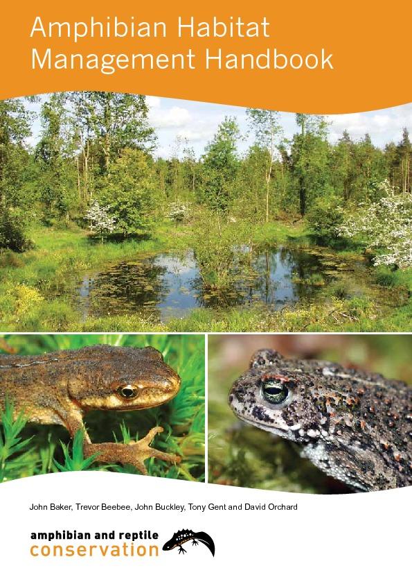 Amphibian Habitat Management Handbook