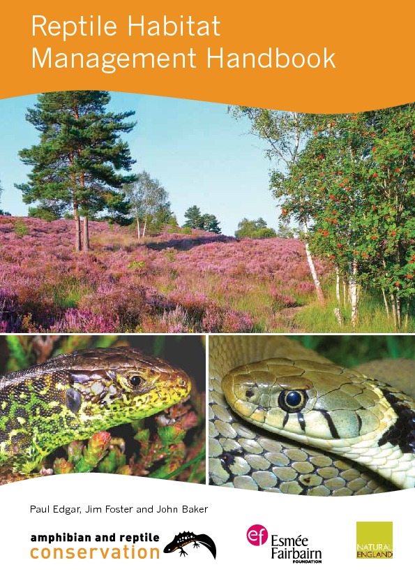 Reptile Habitat Management Handbook
