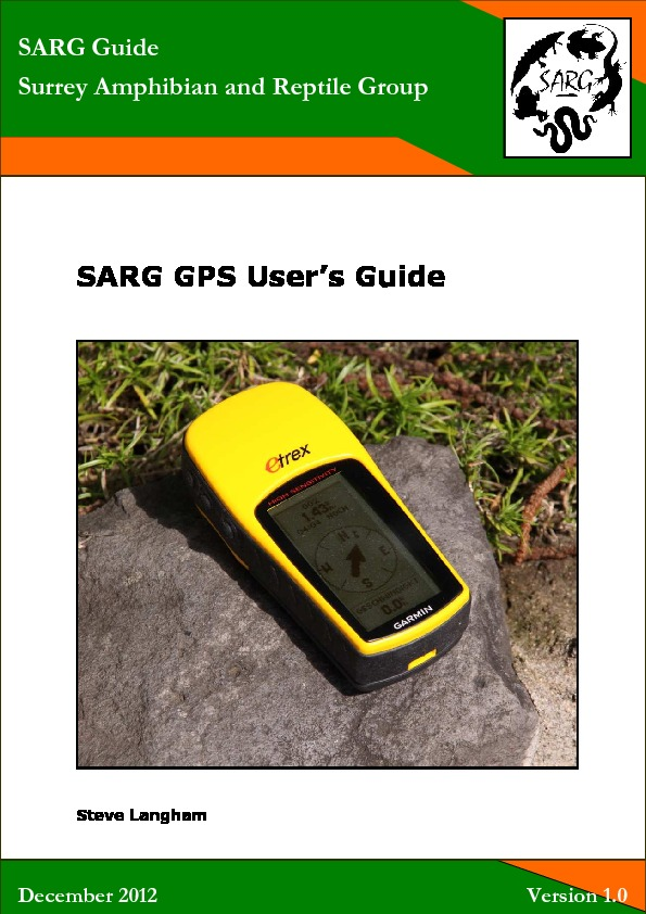 GPS Users Guide