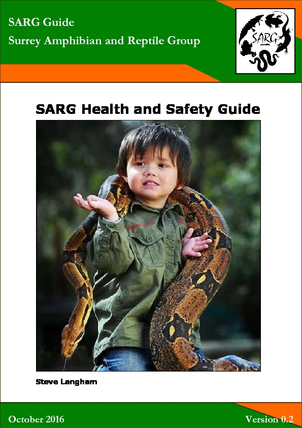 Health And Safety Guide