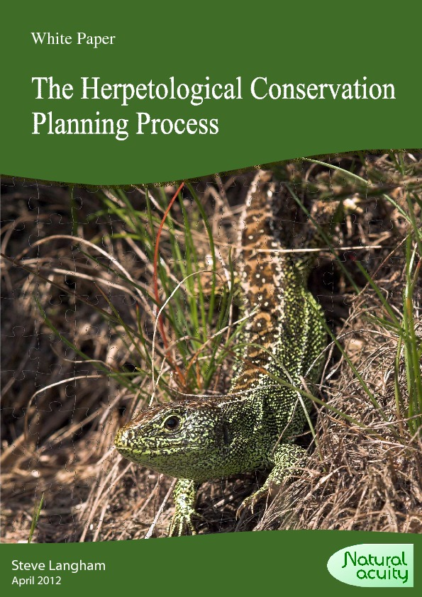 The Herp Conservation Planning Process